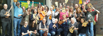 Ukulele-Session-Gruppenbild